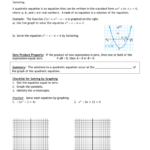 3.1A Notes Solvegraphing And Factoring