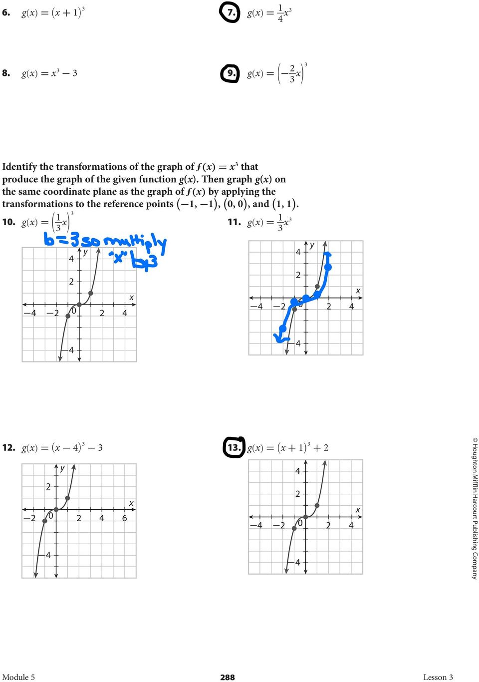 5.3 Graphing Cubic Functions - Pdf Free Download