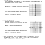 6.2 Graphing Polynomial Functions In Factored Form Ws.
