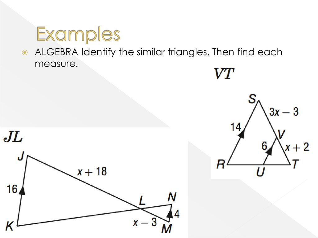 7-3 Similar Triangles. - Ppt Download