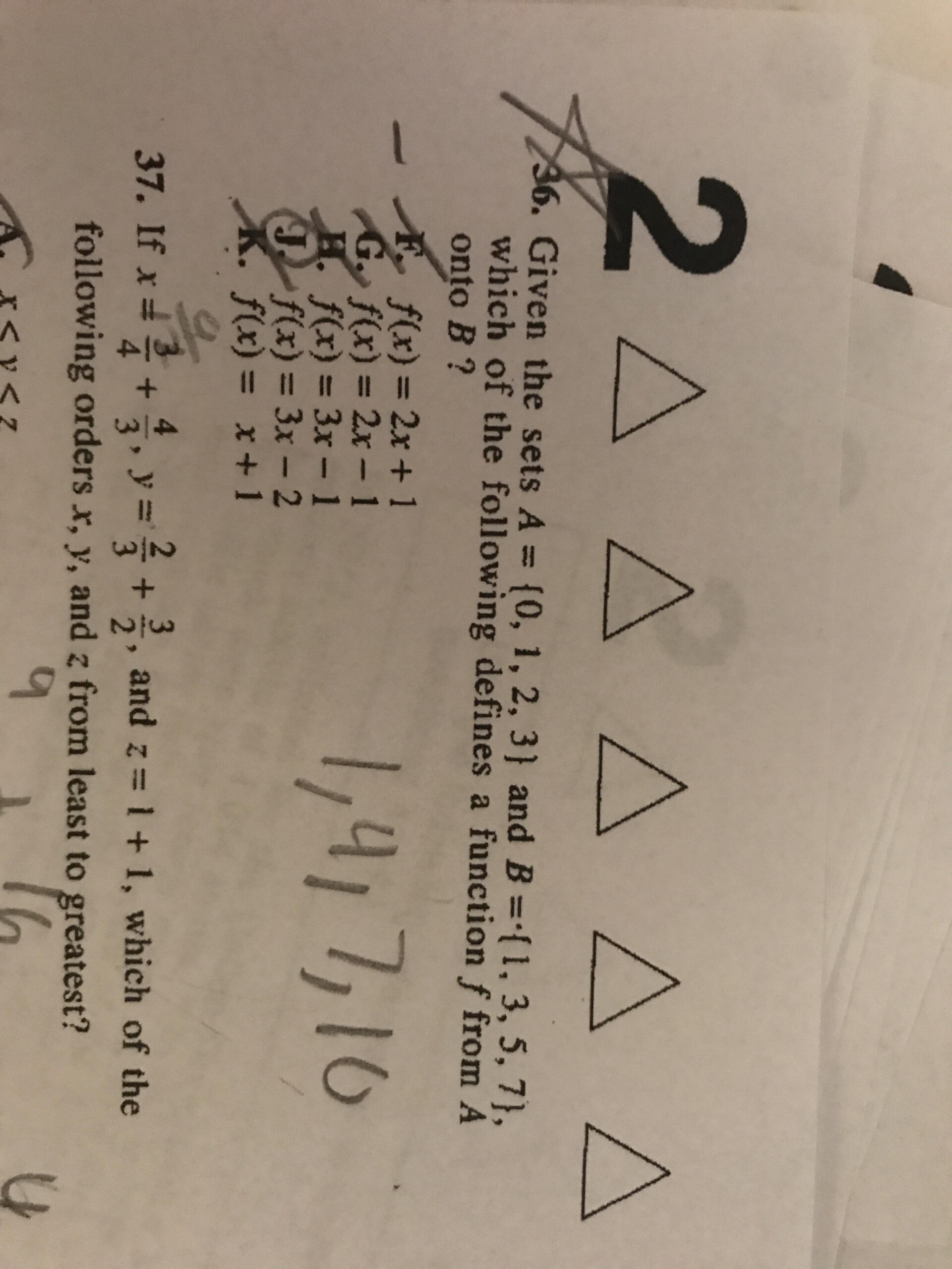 Act Math #36 Help Pleaseeee Can Someone Explain The Wording