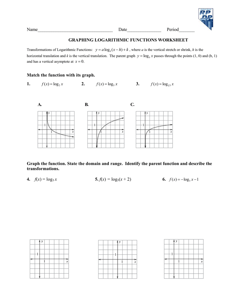 Algebra 1 - Linear Equations Worksheets | Graphing Lines In