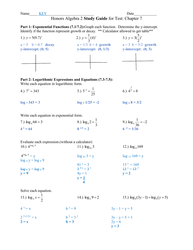 Algebra 2_Sg _ Chapter 7 _ Answers