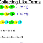 Algebra: Combining Like Terms - Lessons - Tes Teach