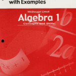 Algebra Concepts And Skills Answer Plus Mcdougal Littell