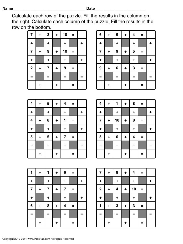 Algebra Practice Questions Palindrome Math Worksheets Fun