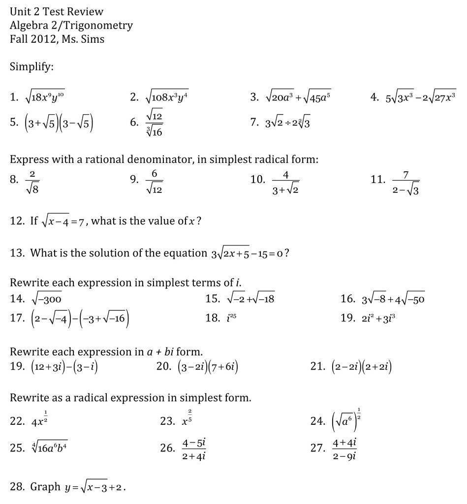 Awesome Chapter 2 Test Form 2C Answers Algebra 1 - Models