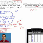 Common Core Algebra I.unit #8.lesson #5.stretching Parabolas And Completing  The Square
