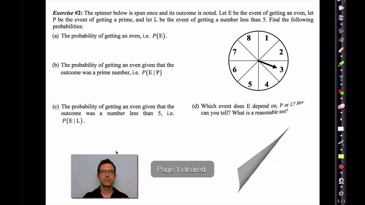 Common Core Algebra Ii.unit 12.lesson 5.independent And Dependent Events