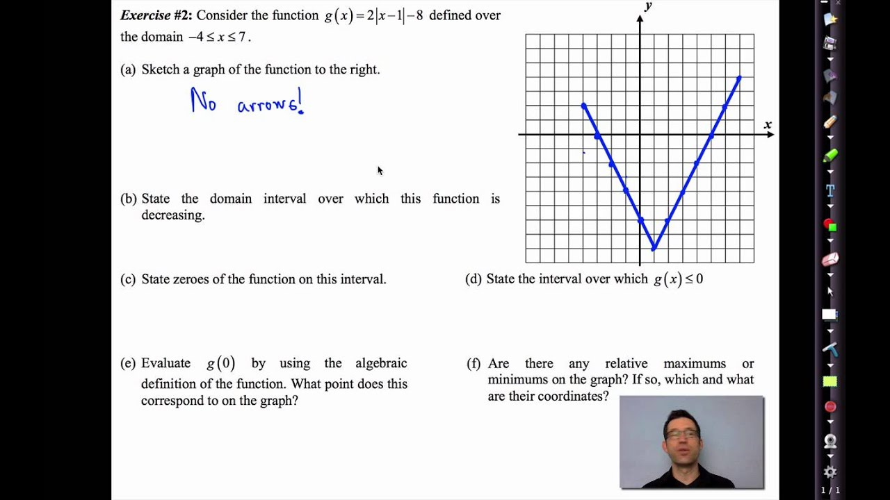 Common Core Algebra Ii.unit 2.lesson 7.key Features Of Functions