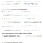 Compound Inequalities Worksheet Answers - Promotiontablecovers