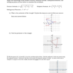 Distance And Midpoint Worksheet Answers - Promotiontablecovers