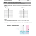 Example 3: Writing A System Of Linear Inequalities