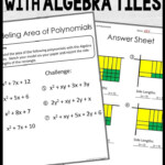 Factoring And Multiplying Polynomials Stations | Algebra