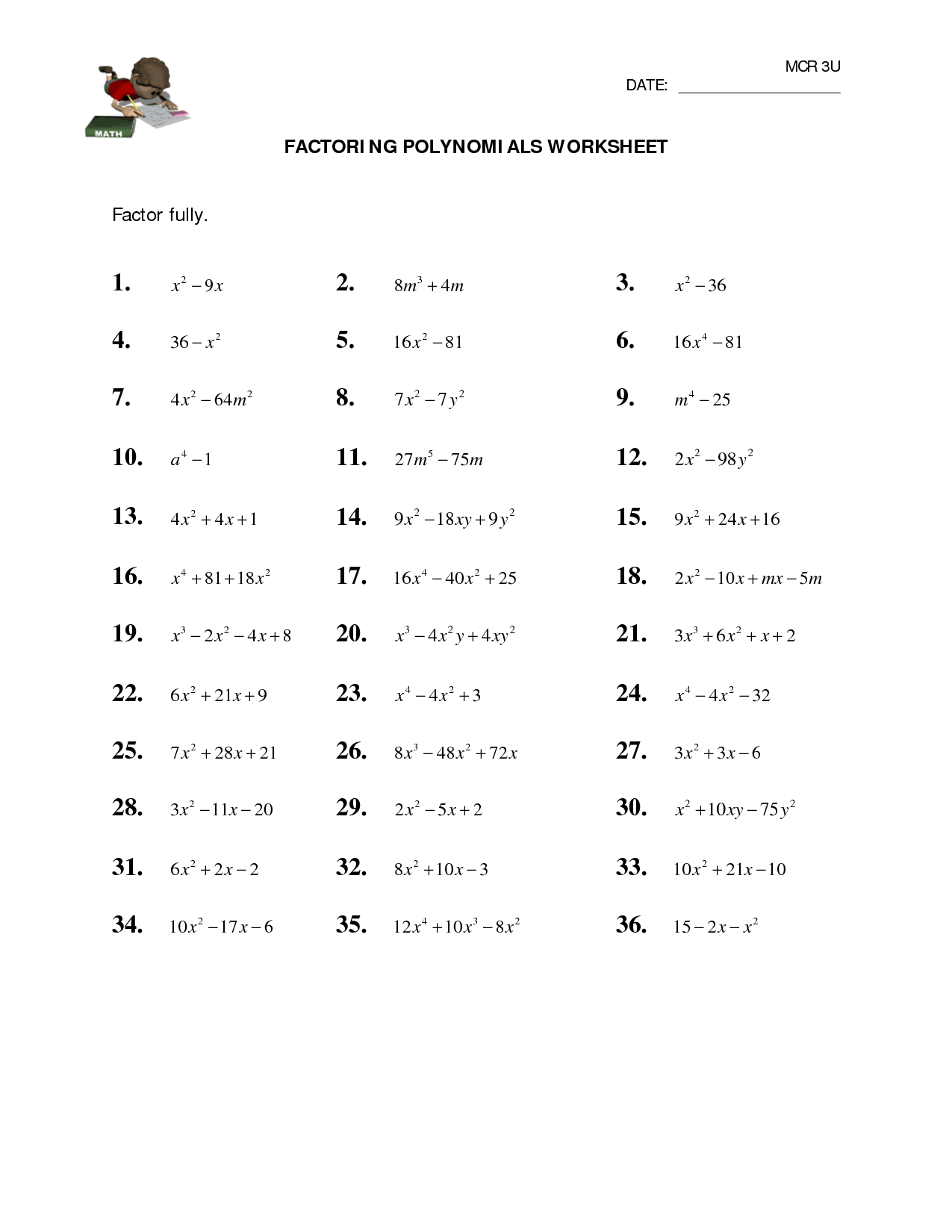 Find The Value Of A That Makes Ax2 - 20X + 25 A Perfect