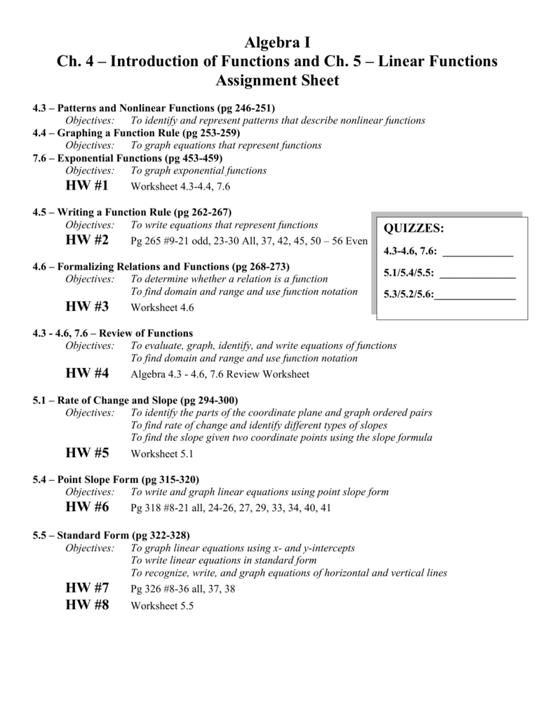 Formalizing Relations And Functions Worksheet Answers   Kids