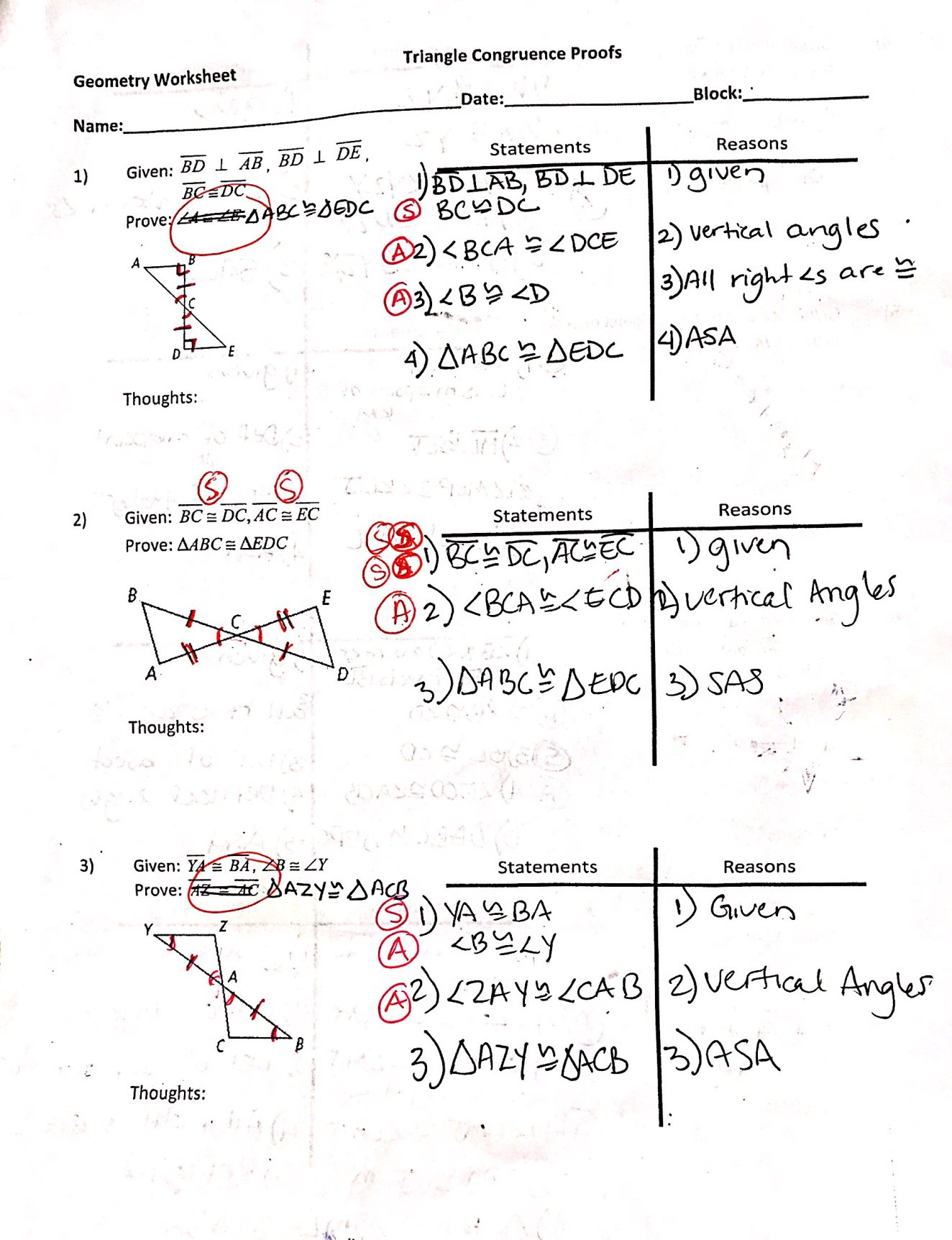 Geometry Cp - Ms Biller's Math Page