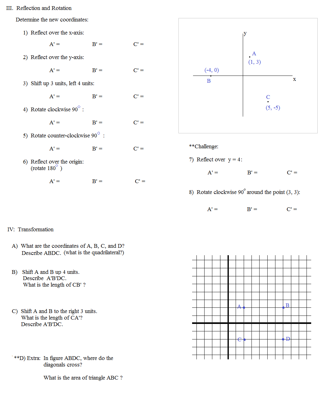 Geometry Uses - Research Paper Sample - Service