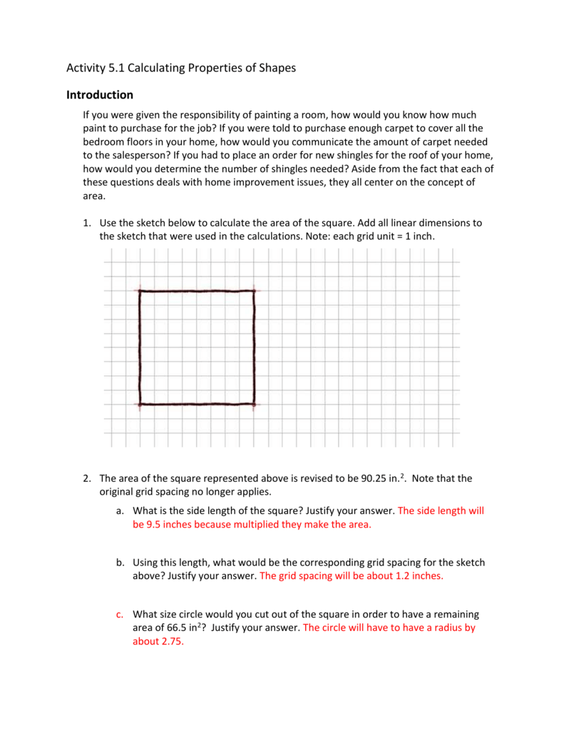 Getting Into Shapes Worksheet Answers - Promotiontablecovers