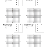 Graphing Linear Equations – Table Of Values