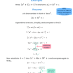 Harder Completing The Square | Studying Math, Completing The