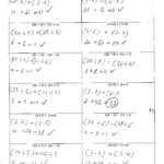 Math Algebra Pizzazz Worksheets Answers | Printable