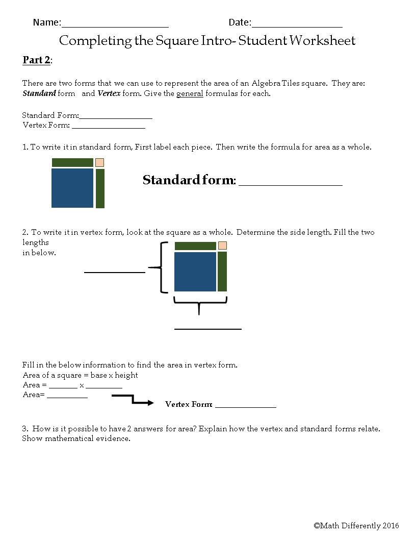 Math Differently~ This Activity Is Designed To Walk Students