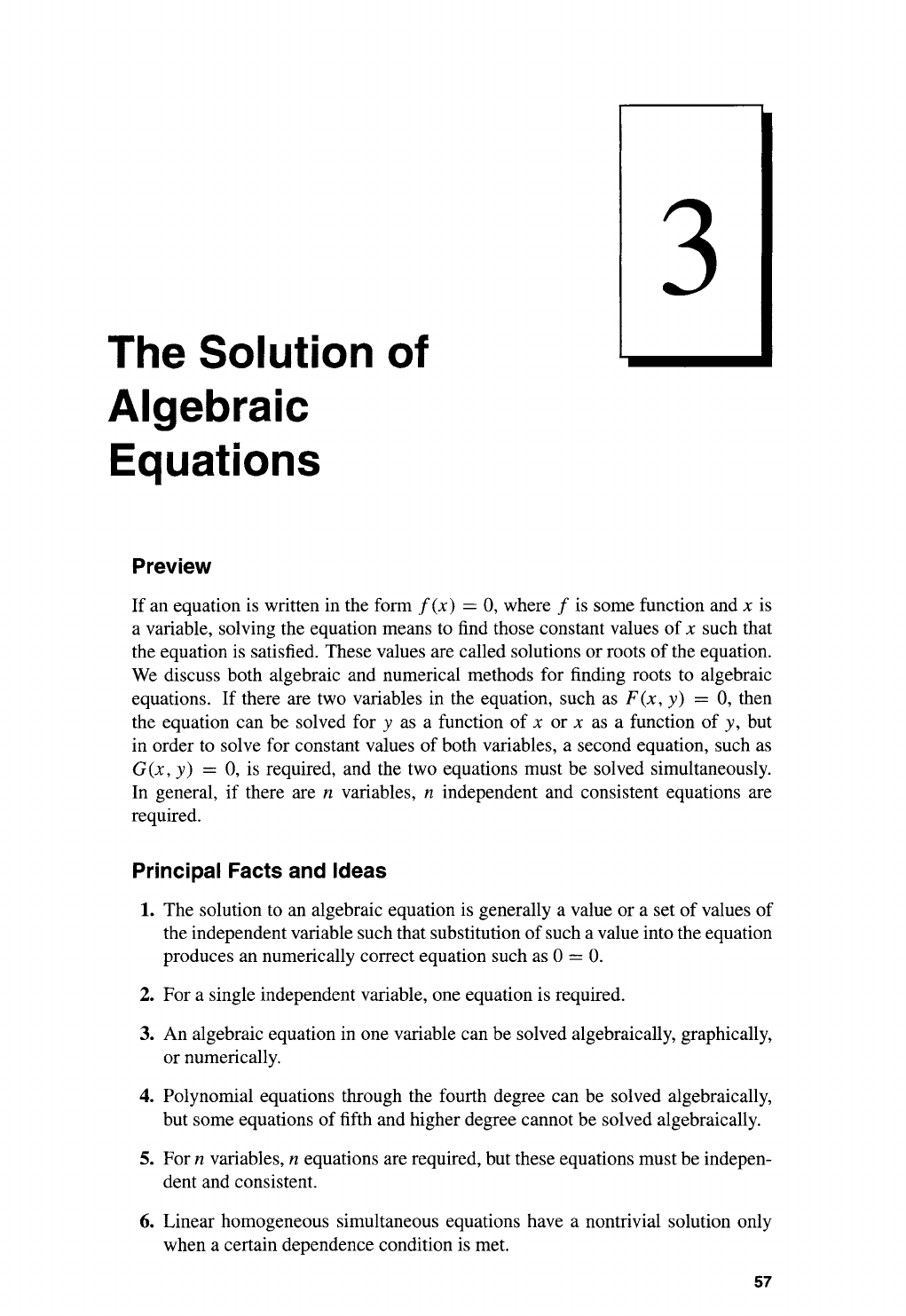 Mathematics For Physical Chemistry || The Solution Of
