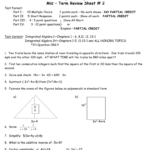 Midterm Review Integrated Algebra 1