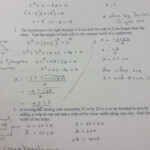 Mpm2D Completing The Square Worksheet | Kids Activities