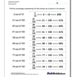 Percentage Worksheets With These Worksheets, Students Will