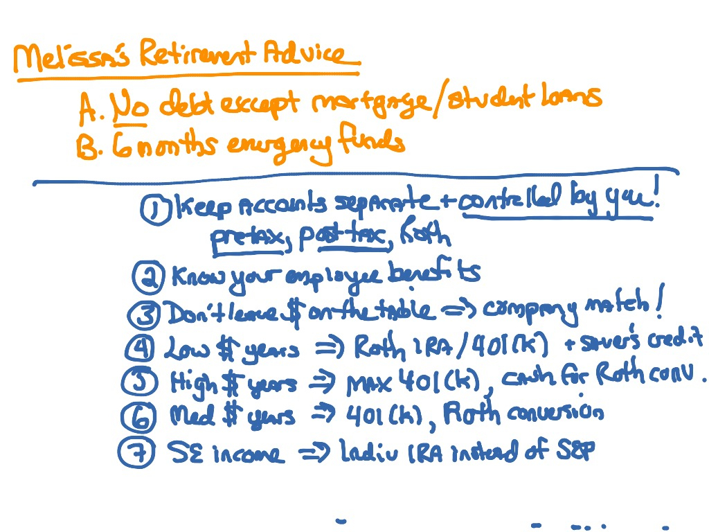 Retirement: What To Do, When, And How?   Taxation