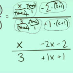 Simplifying Complex Fractions (With Variables!) Using Lcm