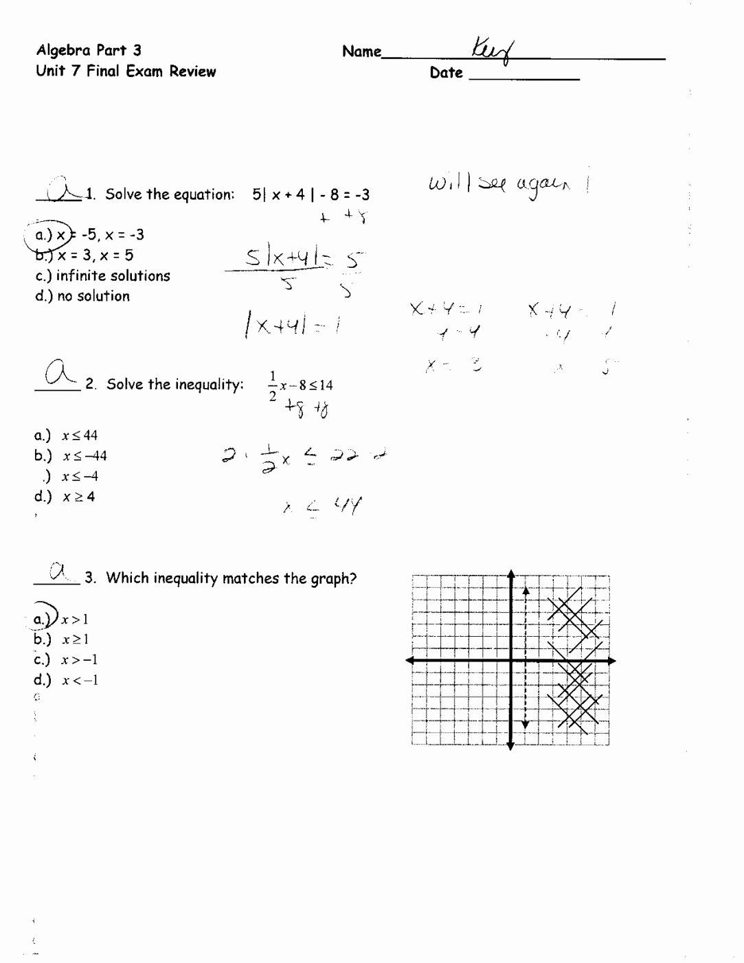 Solving Systems Of Inequalities Worksheet Inspirational