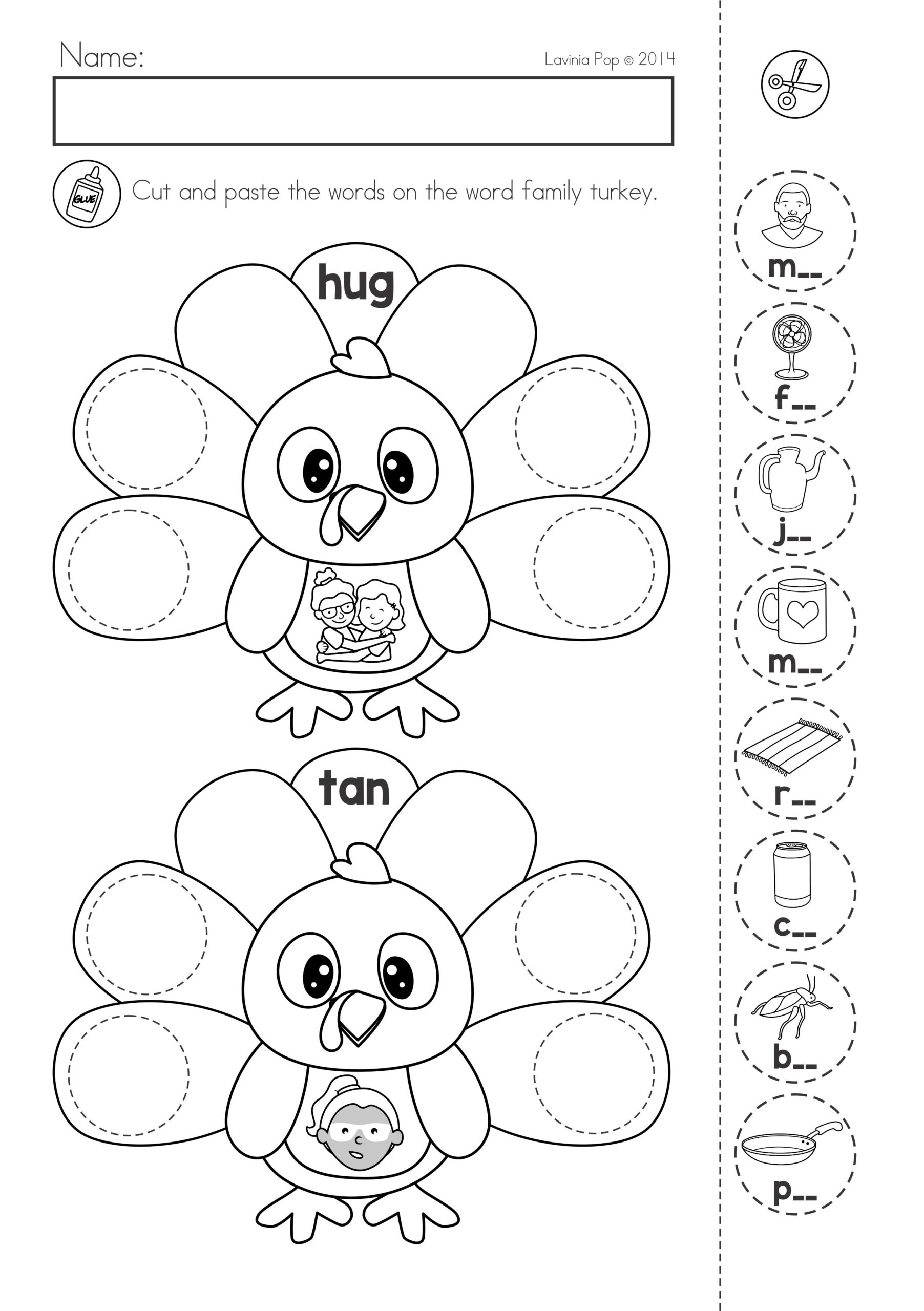 Thanksgiving Math Literacy Worksheets And Activities For