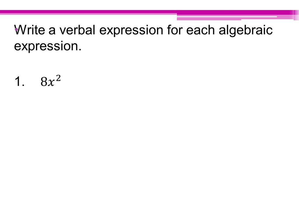 Variables And Expressions - Ppt Download