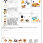 What Do You Have For Breakfast? Worksheet - Free Esl
