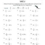 Worksheet ~ Astonishing Math Worksheets 5Thde Connections To