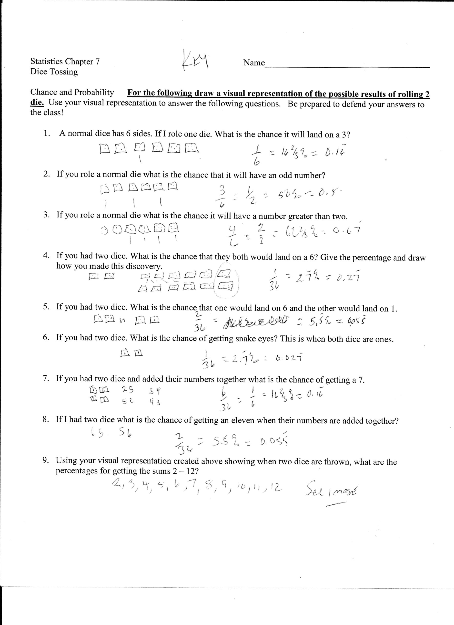 Worksheet Works Probability Word Problems Kids Activities