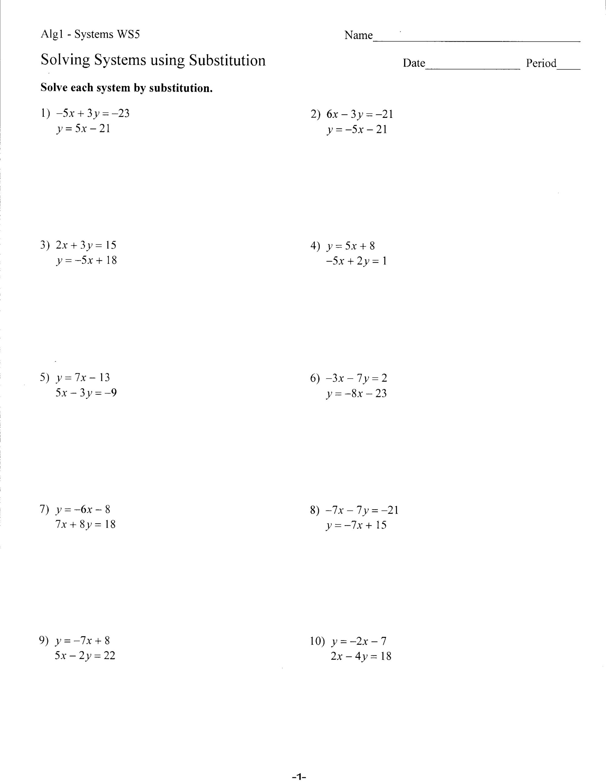 Worksheets - Mrs. Lay's Webpage 2011-12