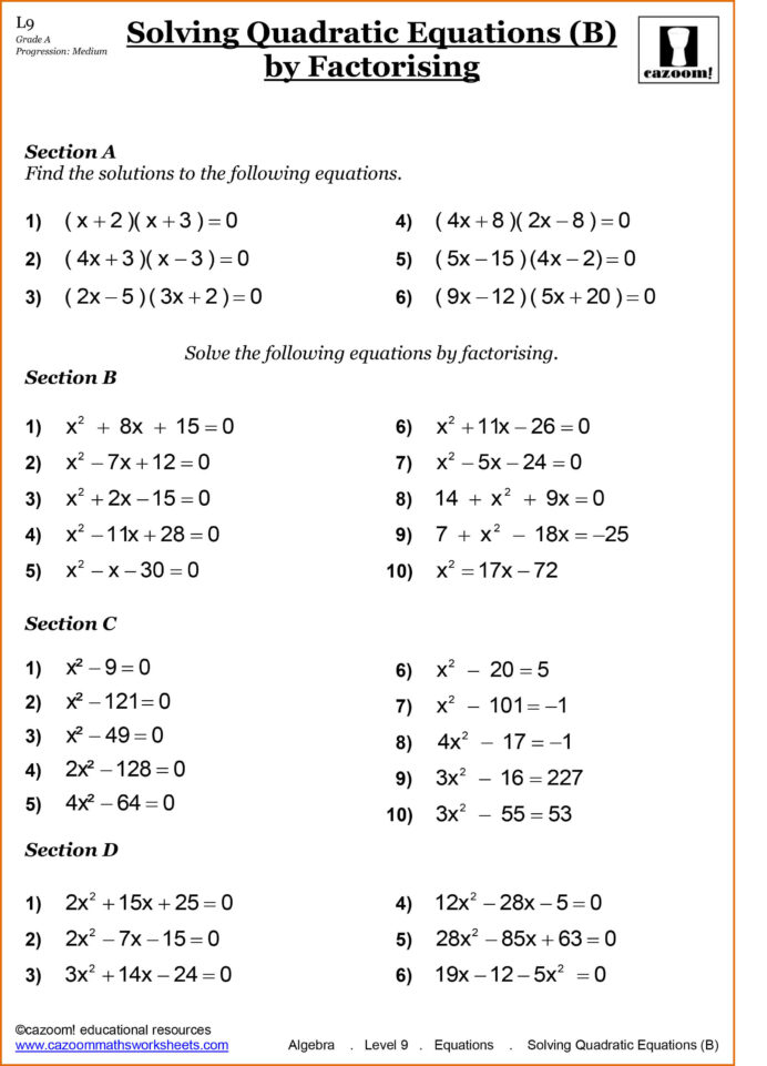 Year Maths Worksheets Printable Pdf High School Math With
