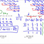 34 Dividing Polynomials Worksheet With Answers - Worksheet