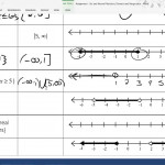 Assignment - Set And Interval Notation, Domain And Range