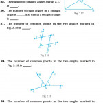 Class 6 Important Questions For Maths – Geometry   Aglasem