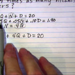 Coin Word Problems (Examples, Solutions, Videos, Worksheets