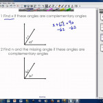Complementary Angles And Supplementary Angles (Video Lessons