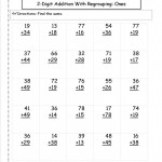 Free Printable Maths Worksheets For 2Nd Grade In Math Second