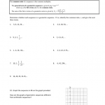 Geometric Sequences And Series Worksheet Answers - Worksheet