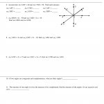 Geometry Preap Complementary And Supplementary Angles