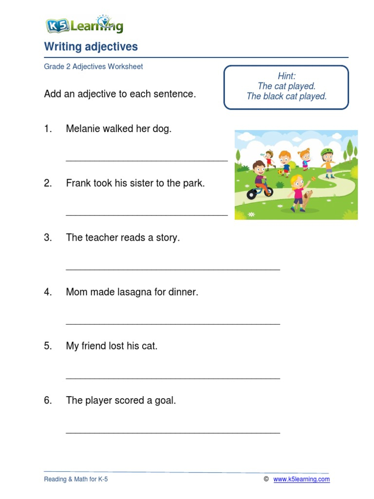 Grade Adjectives Worksheets Simplifying Cube Roots Basic